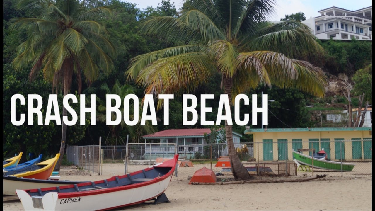 THIS IS WHY YOU TRAVEL TO PUERTO RICO - CRASH BOAT BEACH