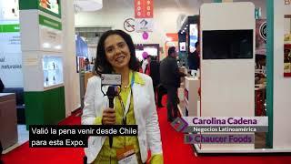 Food Tech Summit & Expo 2017 - Testimonio Pase Dorado – Chaucer Foods – Carolina Cadena