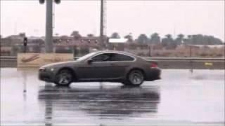 BMW M6 Drifting in the rain