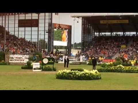чемпионат Европы 2015 FEI конкур первое место Jeroen Dubbeldam