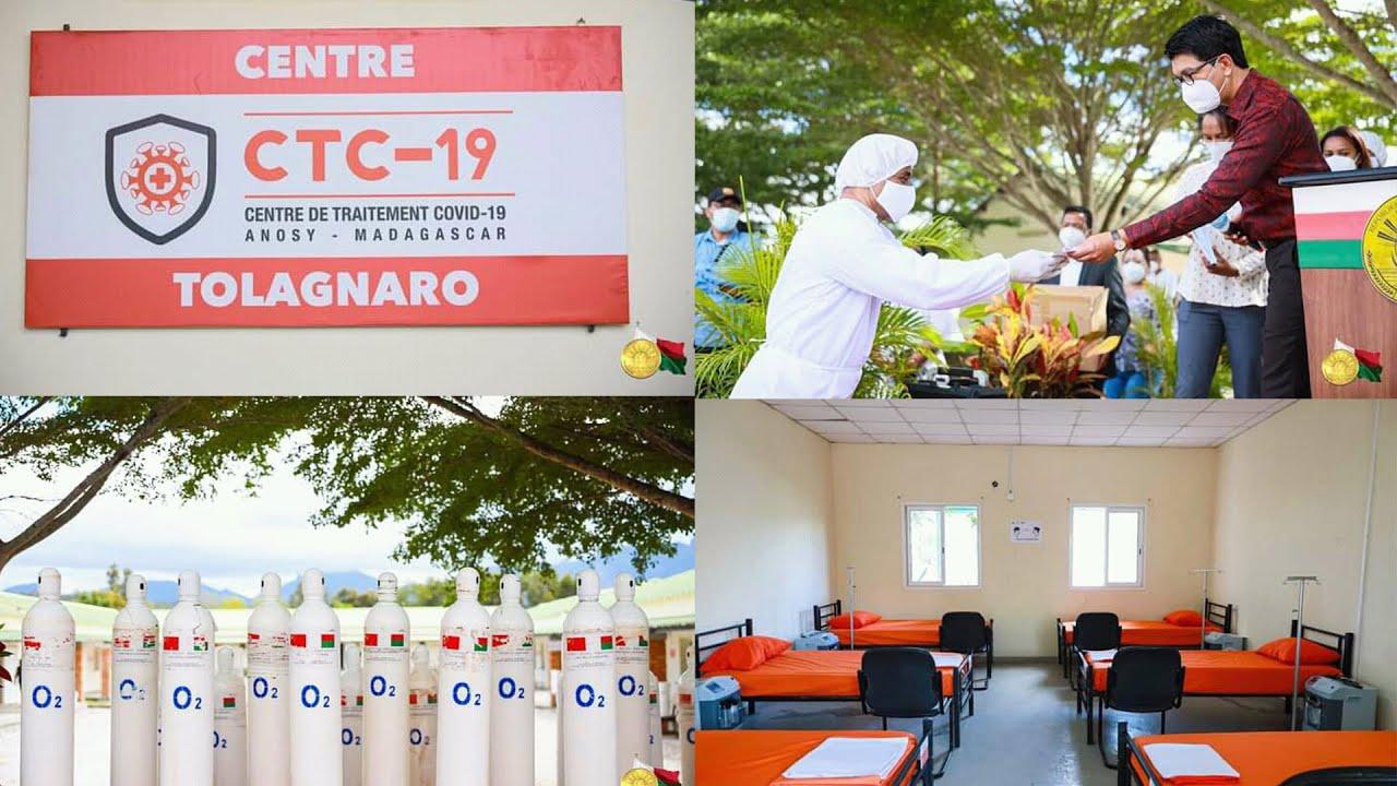 LAFITSINANANA-TOLAGNARO : NISOKATRA NY CTC-19