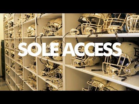 Inside Baylor University's Football Locker Room // Sole Access