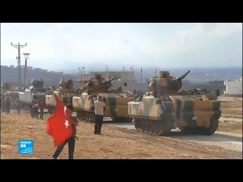 تركيا تنشر دباباتها في محيط بلدة عفرين السورية  - نشر قبل 2 ساعة