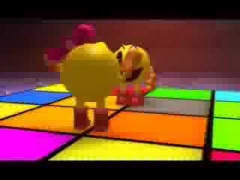 Pacman Adventures In Time PACMAN DANCE!