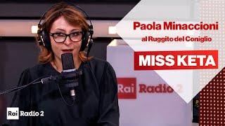 Miss Keta senza mascherina al Ruggito del coniglio, ma è Paola Minaccioni