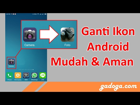 Cara Ganti Ikon Android - Bisa pakai foto pacar kamu sob!