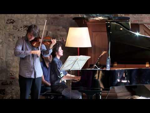 Daniel Rowland & Natacha Kudritskaya play Poulenc @ Stiftfestival '12