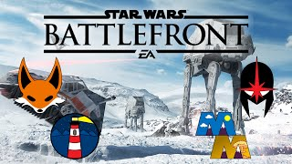 Star Wars Battlefront Beta: We Are Really Bad (Funny Moments and Fails)