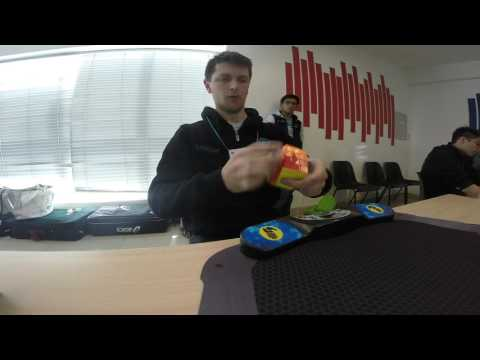 4x4 Rubik's Cube World Record: 19.36