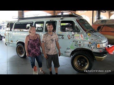 Cortney & Corey with DaVan. 1996 Dodge 3500