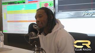 Offset Stops By to Talk #Fatherof4Album With DJ Clue