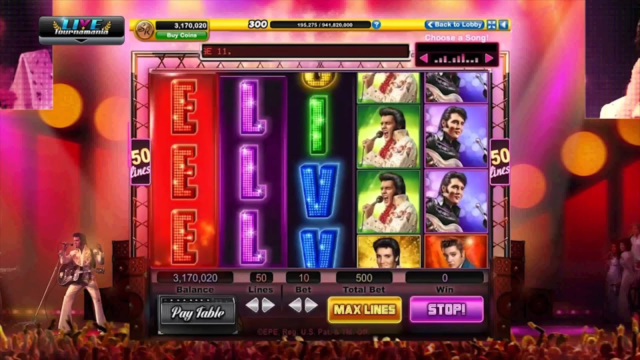 Elvis presley casino slots how does craps betting work