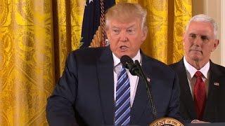 Repeat youtube video President Trump's senior staff sworn in