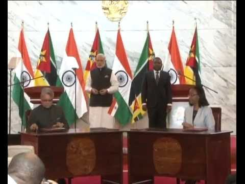 PM Modi at the Joint Press Statements in Maputo, Mozambique