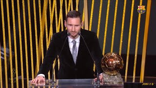 Lionel Messi Wins Ballon D'or 2019 Award Best Player In The World