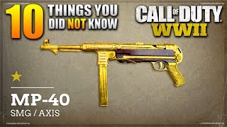 10 Things You Did *NOT* Know About CALL OF DUTY: WW2! (Zombies, Supply Drops + MORE)
