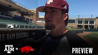 Baseball: Arkansas Preview | Childress, Kilkenny, Doxakis, Janca 5.9.18