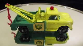 Match Box Truck , Lesney,  BP Tow  Truck Mint condition , enjoy Mike Espo..