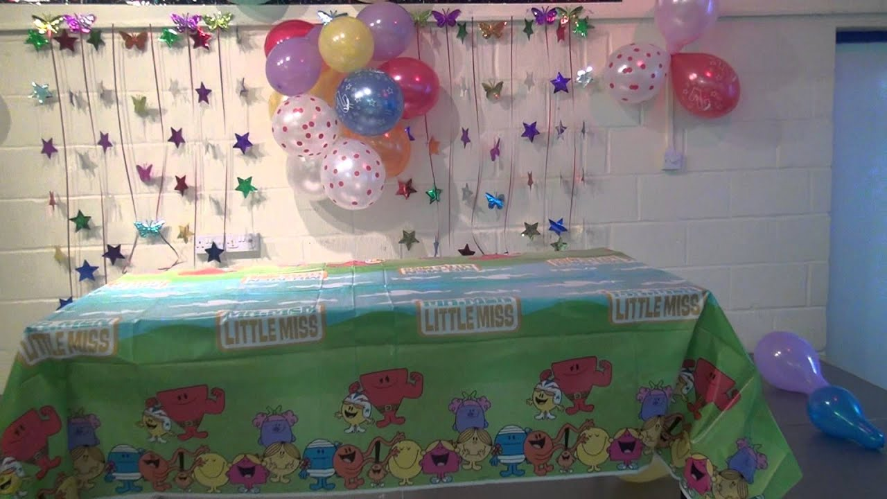 happy 39 s second birthday decoration part1 mts youtube