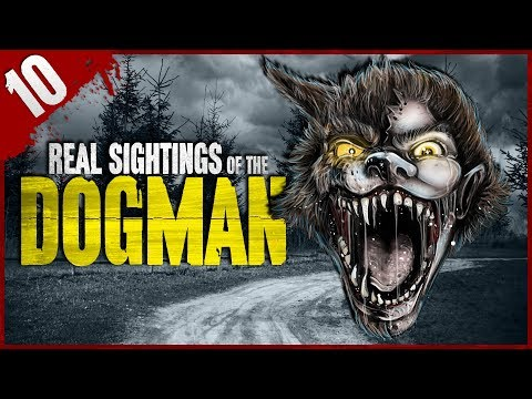 10 REAL Dogman Sightings [VIDEO] : DarknessPrevails