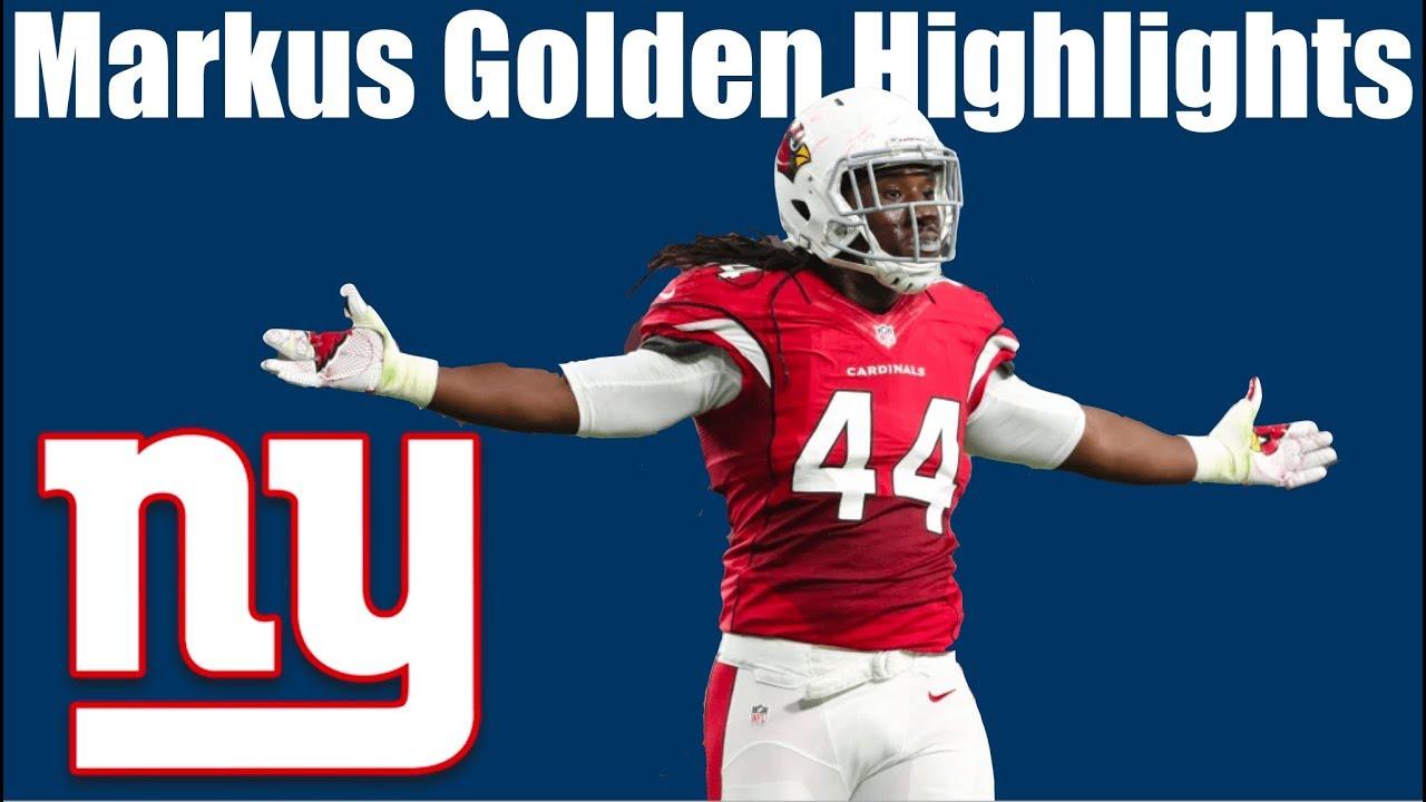 Giants DE/OLB Markus Golden Arizona Highlights