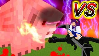 【Minecraft】最恐のエンダ―ドラゴンvs最強のブタ!?世界最強の生き物は誰だ…!!【ゆっくり実況】【マインクラフトmod紹介】