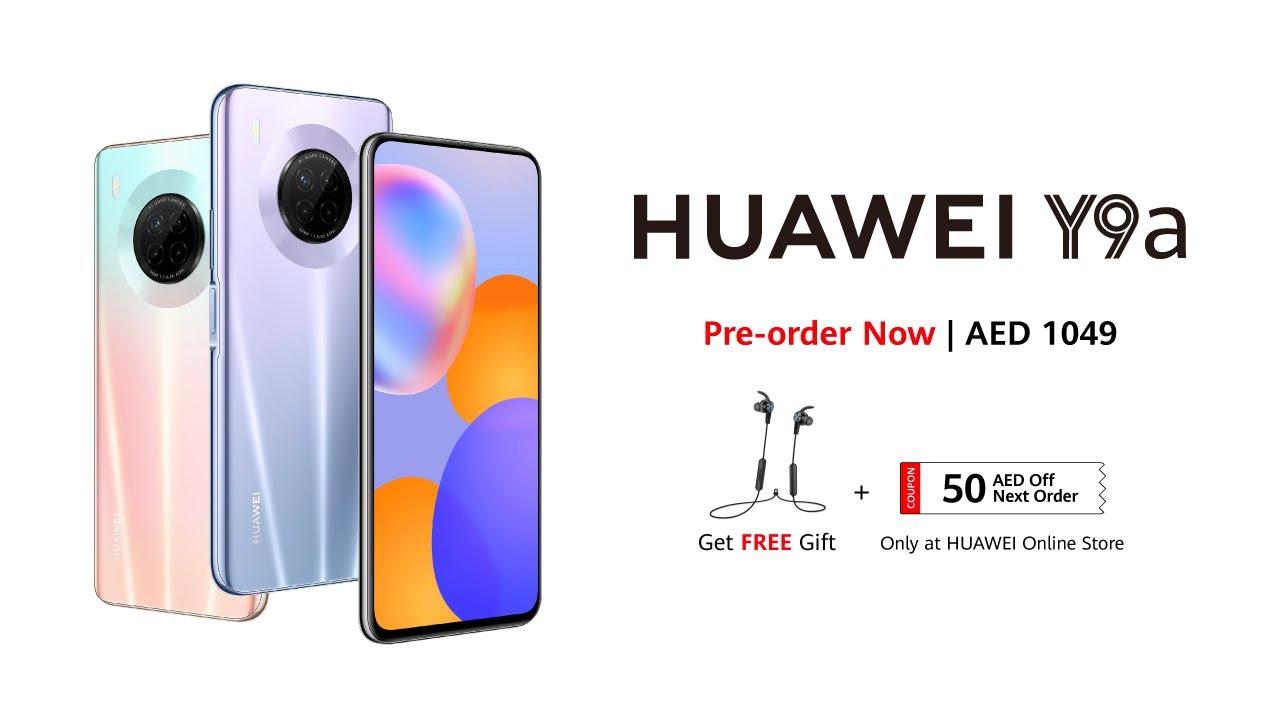 HUAWEI Y9a | 64 MP Quad Camera