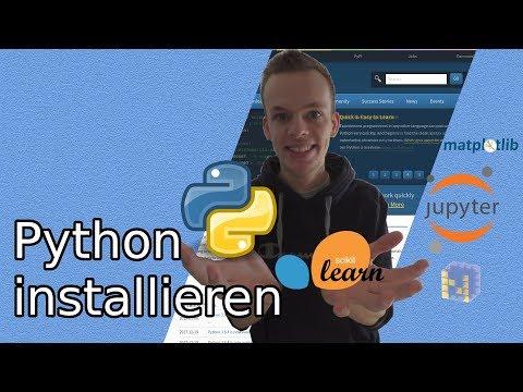 Machine Learning: Python und Pakete installieren [Deutsch] | So geht Data Science