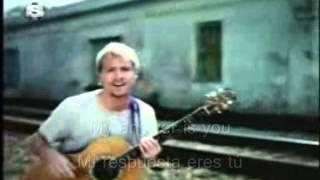 Brian Littrell - My Answer Is You  lyrics / subespañol