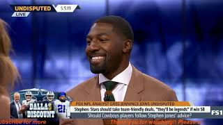 Greg Jennings SURPRISED on Stephen Jones team-friendly deal's advice: 'It was all TRUE' | UNDISPUTED