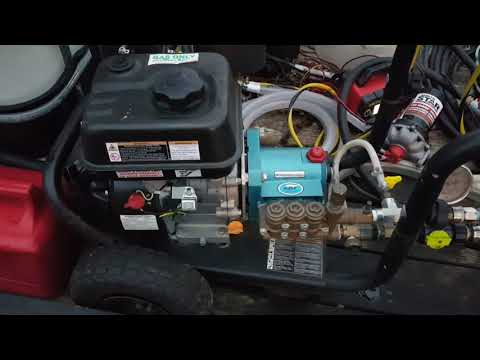A Update on my gas pressure washer with a CAT PUMP