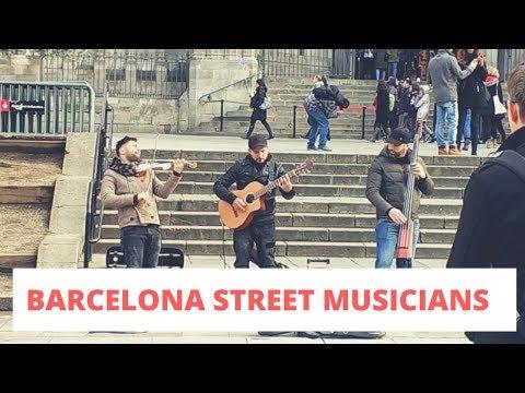 traveling-barcelona-eps.7-|-kerennya-pengamen-di-depan-barcelona-cathedral-(wajib-tonton!!!)