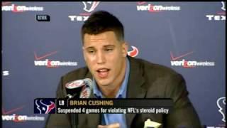 Brian Cushing denies drug use
