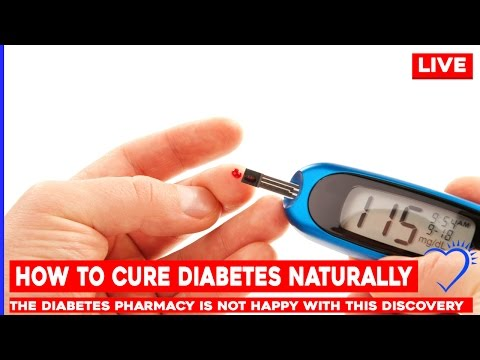 How to Cure Diabetes Naturally - The diabetes pharmacy is NOT happy with this discovery