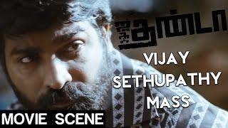 Jigarthanda - Vijay Sethupathi Mass Scene | Siddharth | Lakshmi Menon | Karthik Subbaraj