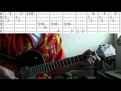 guitar lesson Mission Impossible theme tab - YouTube