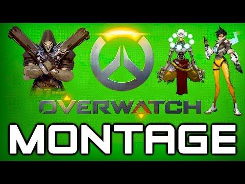Overwatch Beta Montage - Tracer, Reaper, Hanzo, Zenyatta Gameplay (Overwatch PC Gameplay)