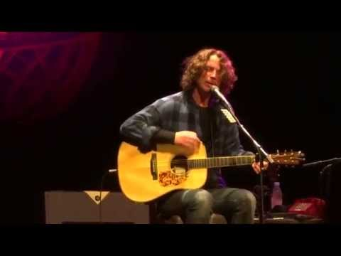 """Nearly Forgot My Broken Heart & Fell On Black Days"" Chris Cornell@Strand York, PA 10/24/15"