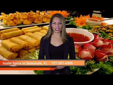 Restaurant Delivery Seminole FL: Sushi Seminole and Thai Food Seminole by Sushi Spice,Reviews