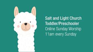 08/30/20 Toddler Sunday Service