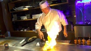 Teppanyaki in Tokyo - Wagyu Steak & Canadian Lobster