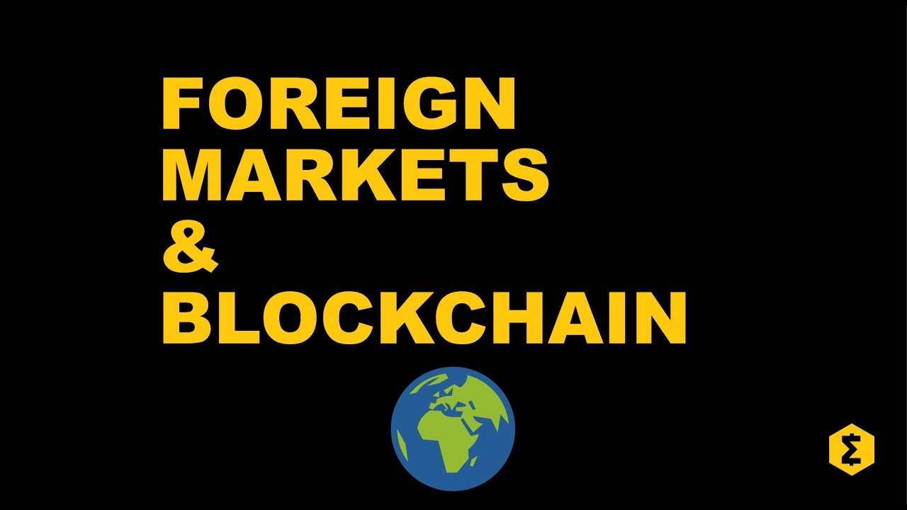 can cryptocurrency be used for foreign markets