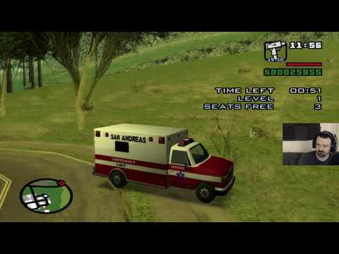 Grand Theft Auto: San Andreas HD playthrough pt57 - Starting the Ambulance Mission