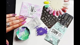 Essence Stamp It! Clear Stampy Set & Image Plates Review - femketjeNL