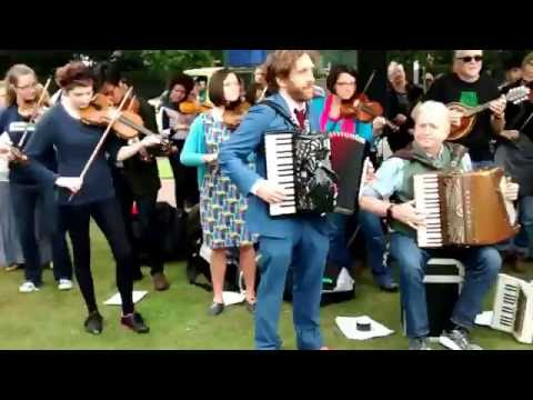 Ceilidh In at the Scottish parliament