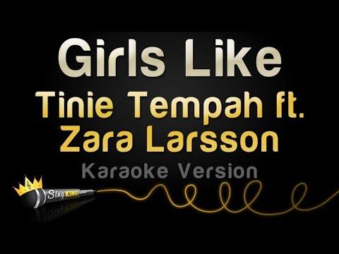 Tinie Tempah ft. Zara Larsson - Girls Like (Karaoke Version)
