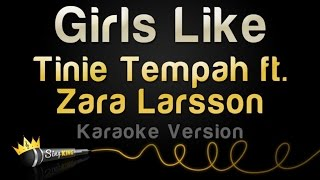 Tinie Tempah ft. Zara Larsson - Girls Like (Karaoke Version)