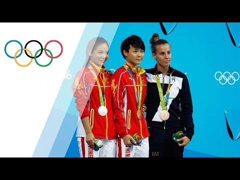 China's Shi wins gold in Women's 3m Springboard Diving[Gary Speed]