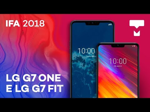 Conferimos o LG G7 One e G7 Fit na IFA 2018 - TecMundo