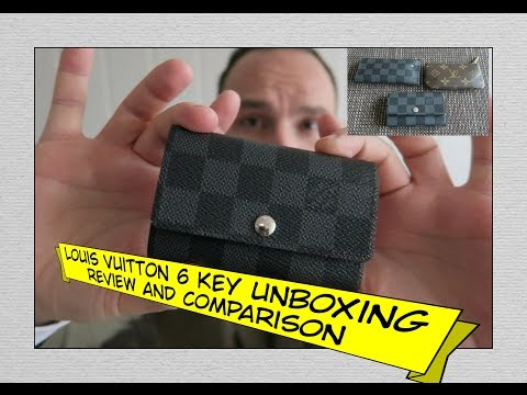 LOUIS VUITTON 6 Key Holder Unboxing, Review and Comparison
